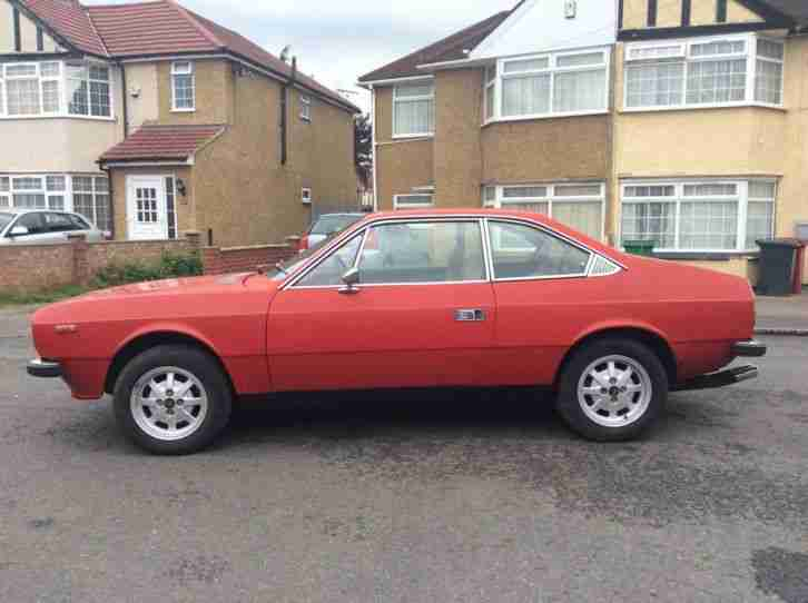 Lancia Beta Coupe 1600. Series 1