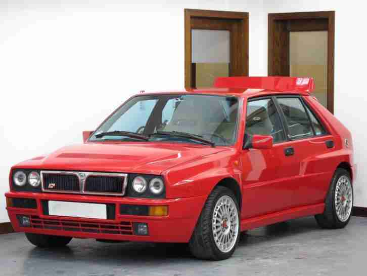 Lancia Delta 2.0. Lancia car from United Kingdom