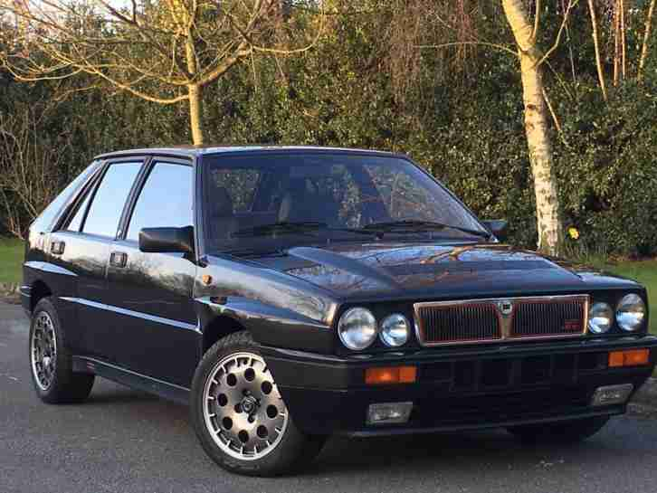 Lancia Delta 2.0i. Lancia car from United Kingdom