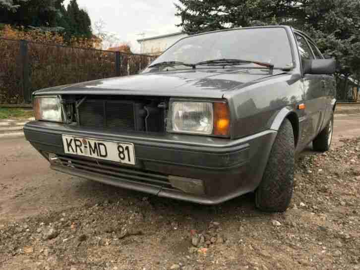 Lancia Delta 4WD. Lancia car from United Kingdom
