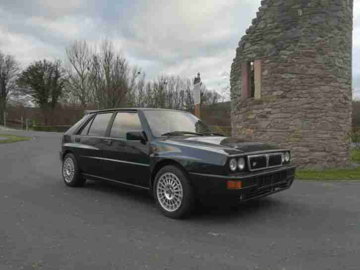 Lancia Delta HF. Lancia car from United Kingdom