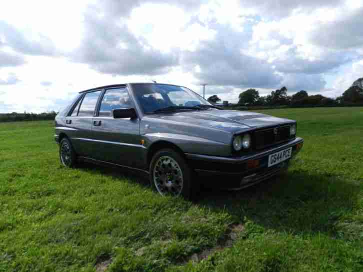 Lancia Delta Integrale 16 Valve 4wd Just cambelt serviced at autointegrale VGC