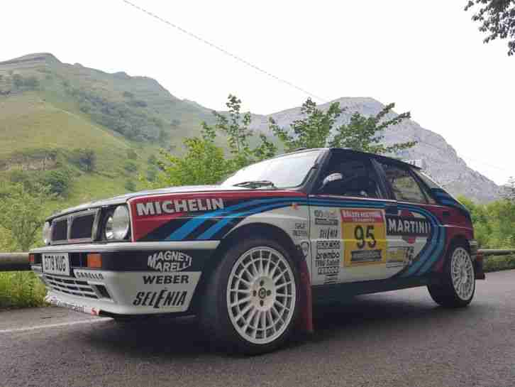 Delta Integrale 16v Martini Rally Car
