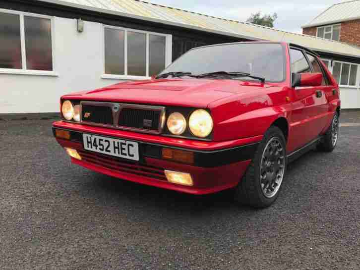 Lancia Delta Integrale. Lancia car from United Kingdom