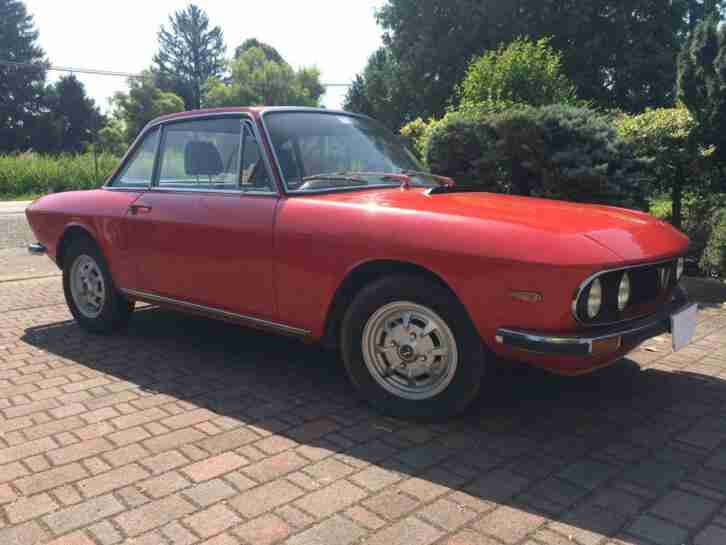 Lancia Fulvia 1,3S. Lancia car from United Kingdom