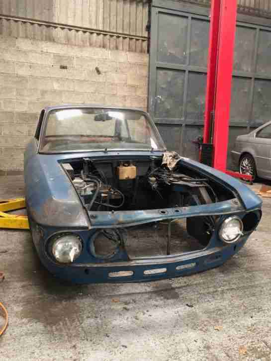 Lancia Fulvia Series 1 Coupe 1.2 1966 EXTREMELY RARE CAR Resto Project