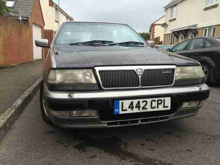 lancia thema 16v ls turbo grey silver series 3 new mot l reg rare. Black Bedroom Furniture Sets. Home Design Ideas