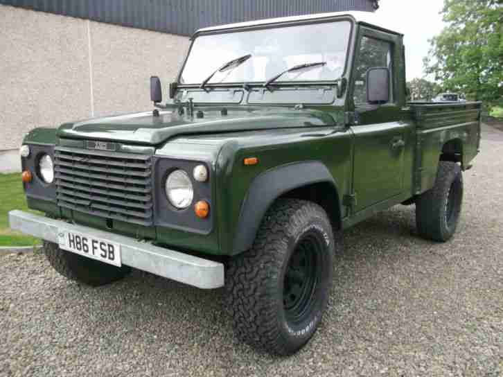 Land Rover 110 4C HCP DIESEL,1990, A Storry
