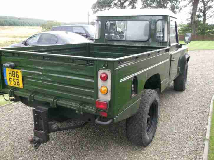 Land Rover 110 4C HCP DIESEL,1990, A Storry 4x4