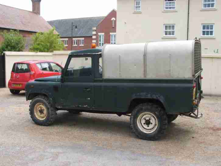 Land Rover 110. Land & Range Rover car from United Kingdom