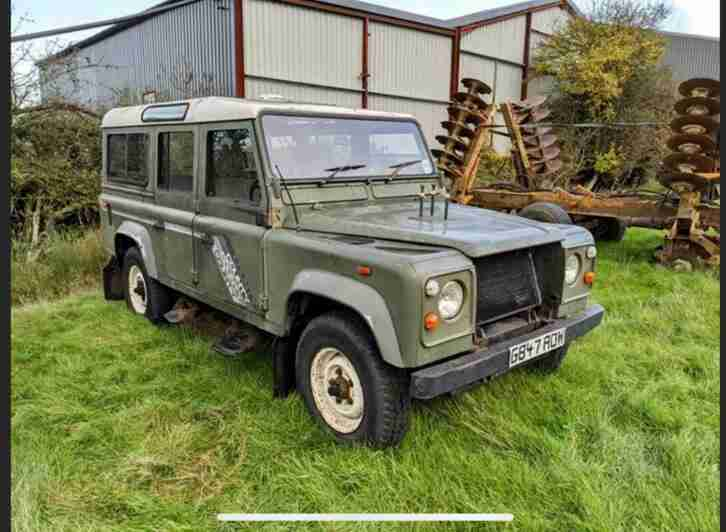 Land Rover 110 County Station Wagon to