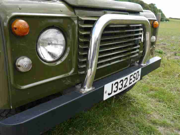 Land Rover 110 DEFENDER TURBO DIES - MOT May 2015 - Taxed