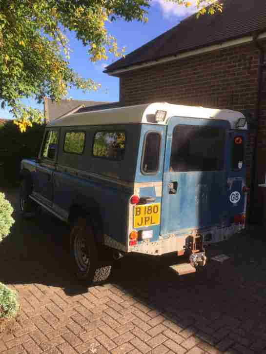 Land Rover 110 V8 3.5 Manual Petrol + LPG LOW Mileage Galvanized chassis