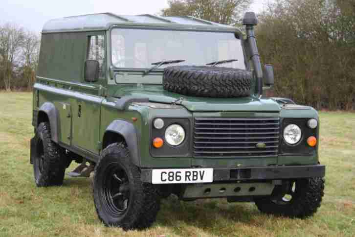 Land Rover Defender 110 Ex MOD 200 TDI Hard Top