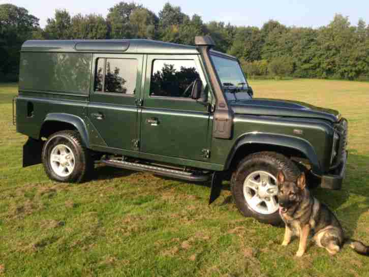 Land Rover Defender 110 Xs Utility Green Jan 2012
