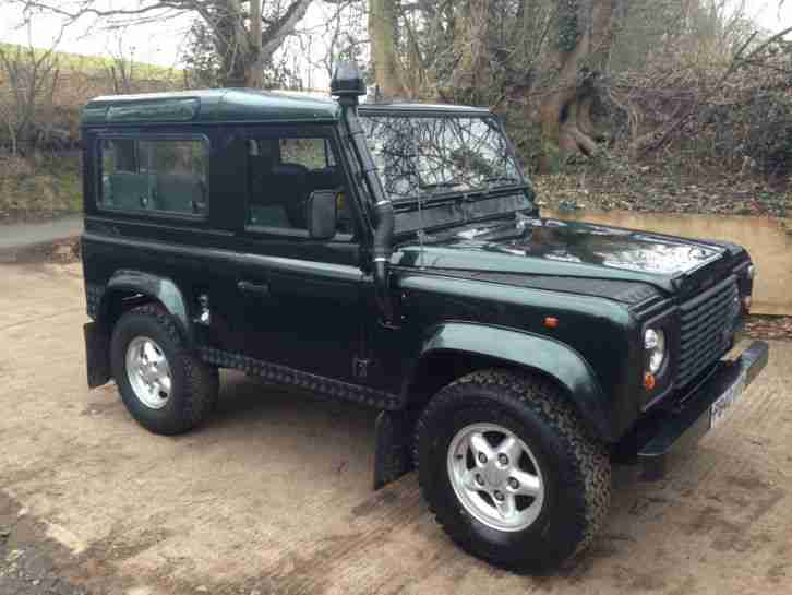 Land Rover Defender 90 2.5 TDI County Station Wagon. car for sale