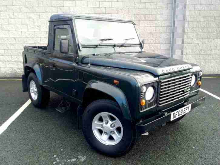 Land Rover Defender 90 Pick up (83,300 Milse). car for sale
