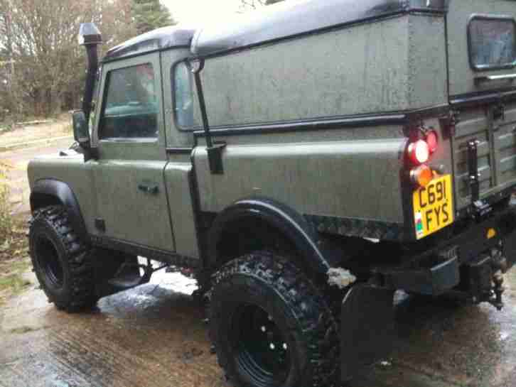Land Rover Defender 90 high lift, Prepper, Diesel