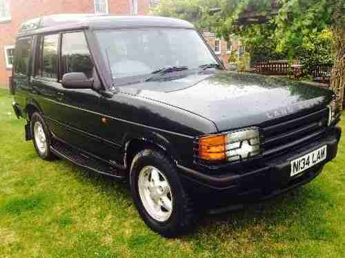 land rover discovery 1995 mpg
