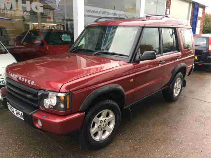 Land Rover Discovery 2.5Td5 ( 7 st ) auto 2000MY Td5 GS (7 seat) metallic red