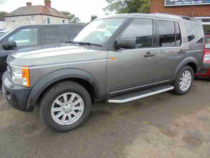 Land Rover Discovery 3 2.7TD V6 auto 2008MY