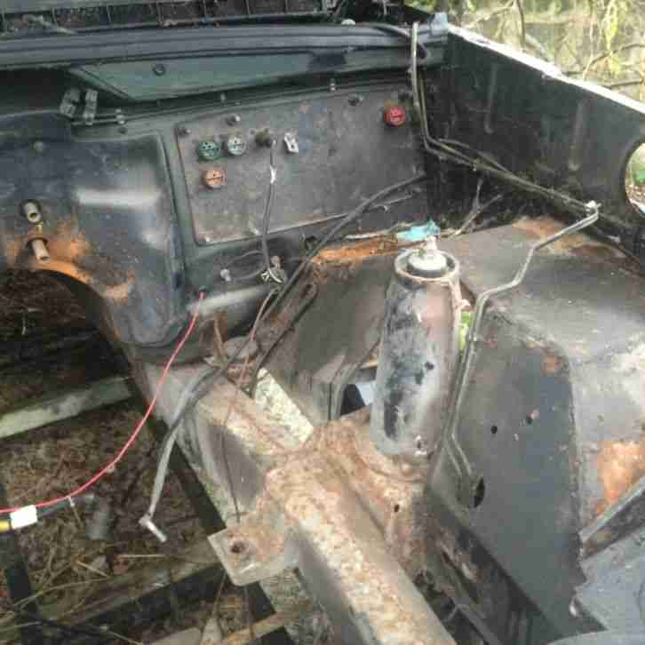 Land Rover Discovery 3 Door Shell & Chassis Project