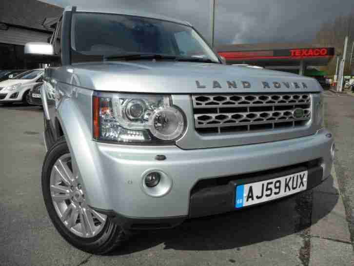 Land Rover Discovery 4 3.0 Tdv6 Hse Auto 7