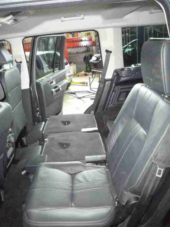 Land Rover Discovery 4 Commercial Van Seat Conversion
