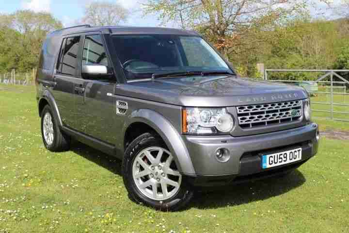 Land Rover Discovery 4 Commercial Xs Light