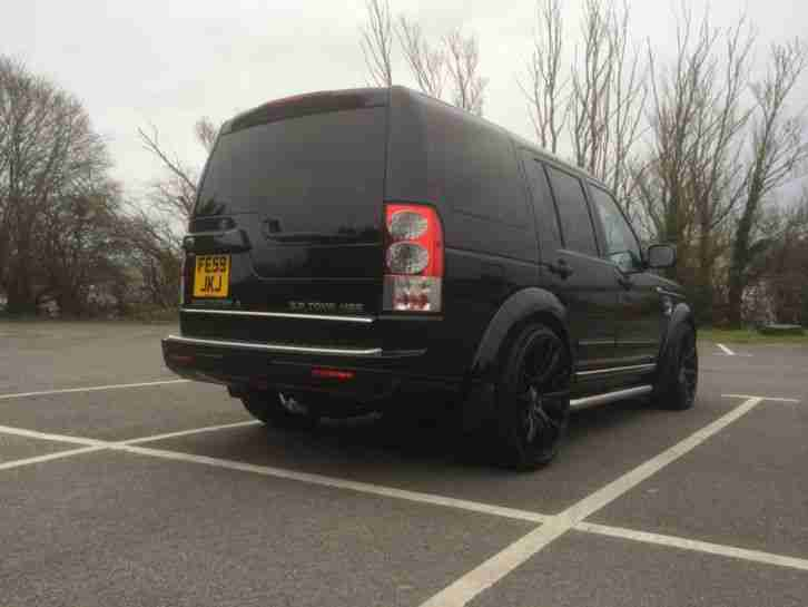 Land Rover Discovery 4 Hse 2009  59  3 0 Tdv6 Gloss Black