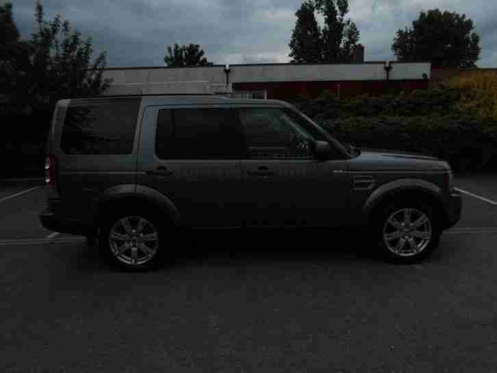 Land Rover Discovery 4 Tdv6 XS SAT NAV 7 Seater DIESEL AUTOMATIC 2010/R