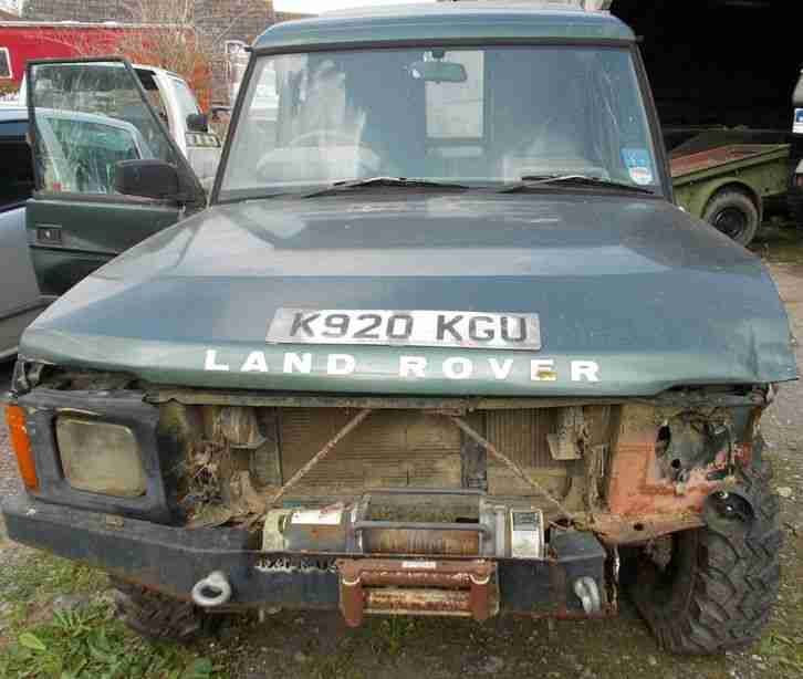 Land Rover Discovery Bobtail. Car For Sale