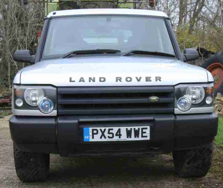 2012 Land Rover Discovery 4 For Sale: Land Rover Discovery Td5 Commercial Tachograph. Car For Sale
