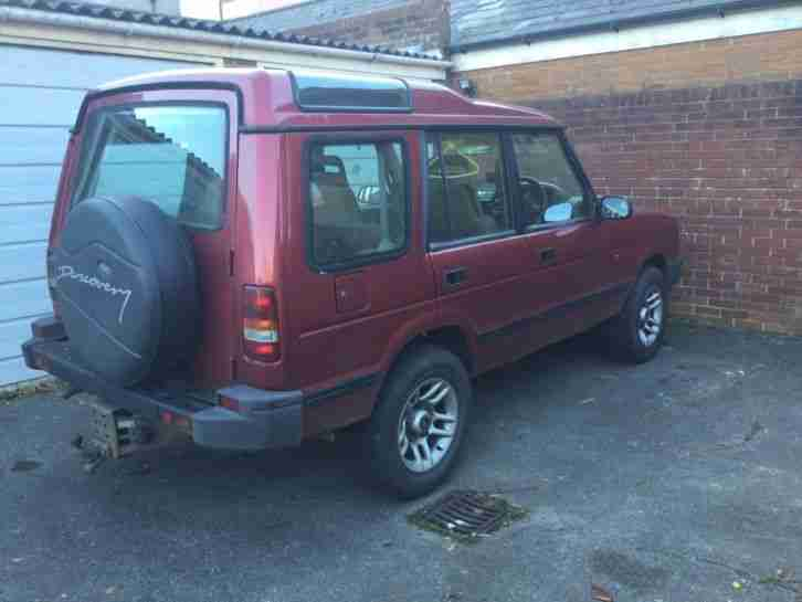 Land Rover Discovery Tdi Spares or Repair