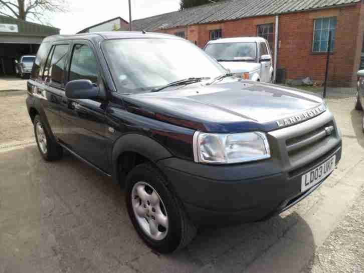 Land Rover Freelander 2.0Td4 2003 Serengeti