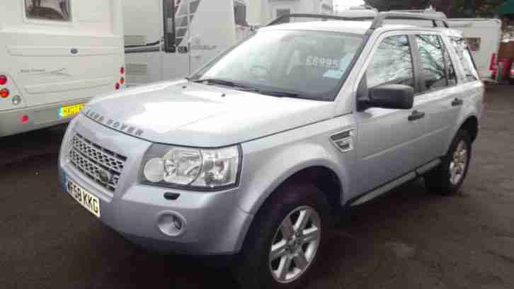 Land Rover Freelander 2 2.2Td4 AUTOMATIC GS SILVER 5 DOOR FULL HISTORY HPI CLEAR