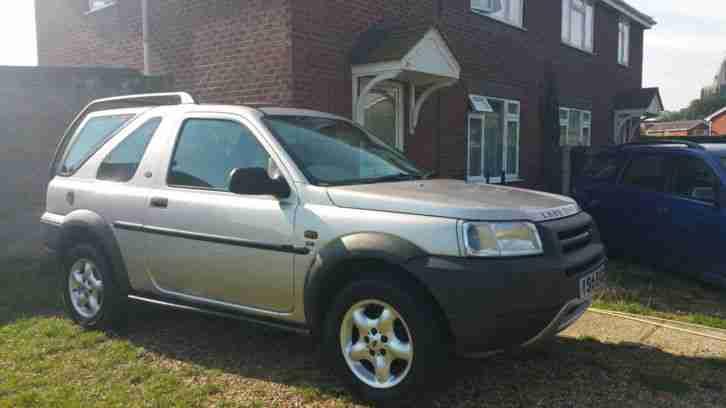 land rover freelander 2001 1 8 petrol car for sale. Black Bedroom Furniture Sets. Home Design Ideas