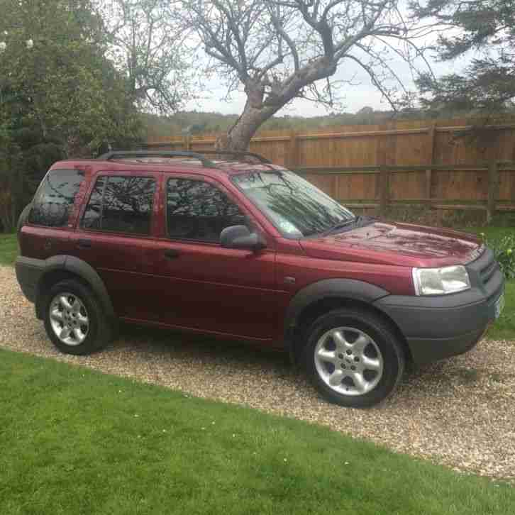 Land Rover Freelander Station Wagon 1.8 Kalahari 5d. Car