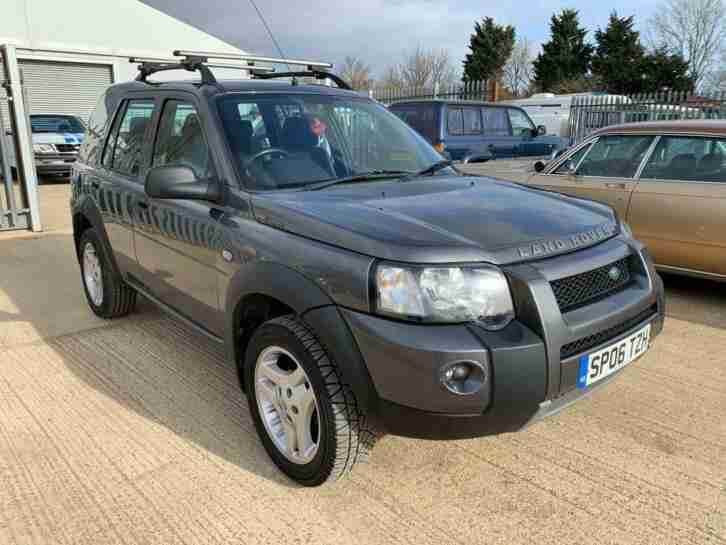 Land Rover Freelander td4, 5 door, full mot,