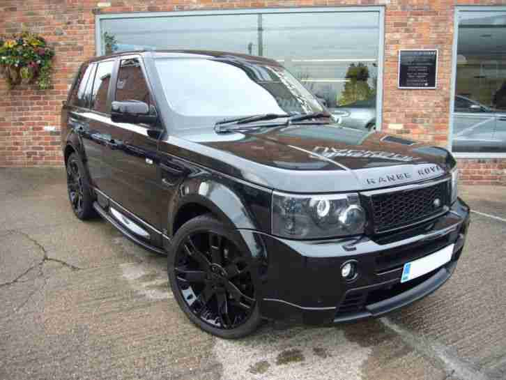 land rover range rover sport 2 7 tdv6 hse 2010 hst. Black Bedroom Furniture Sets. Home Design Ideas