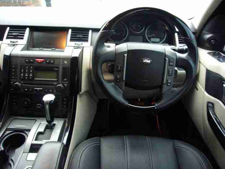 rover range sport hst 2006 tdv6 hse land interior facelift miles offer