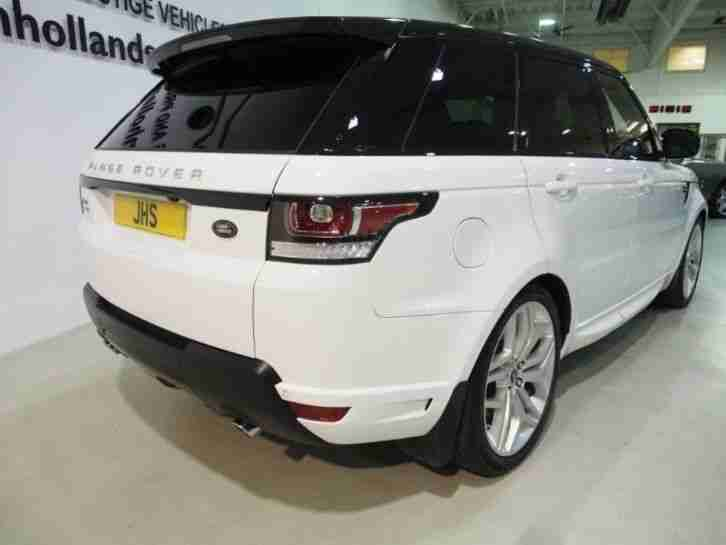 "Land Rover Range Rover Sport Estate SDV6 AUTOBIOGRAPHY DYNAMIC 22""s Pan Roo"