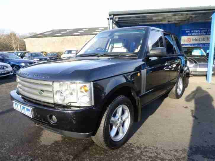 land rover range rover td6 vogue diesel automatic 2005 05. Black Bedroom Furniture Sets. Home Design Ideas