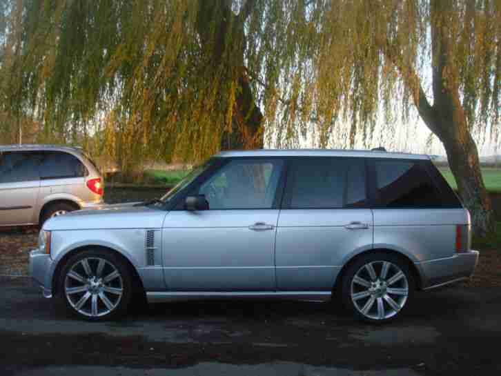 Land Rover Range. Land & Range Rover car from United Kingdom