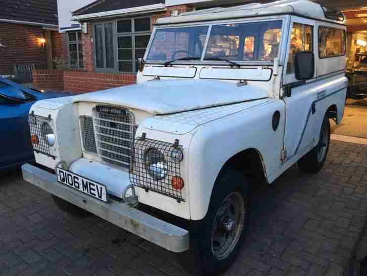 Land Rover Series. Land & Range Rover car from United Kingdom