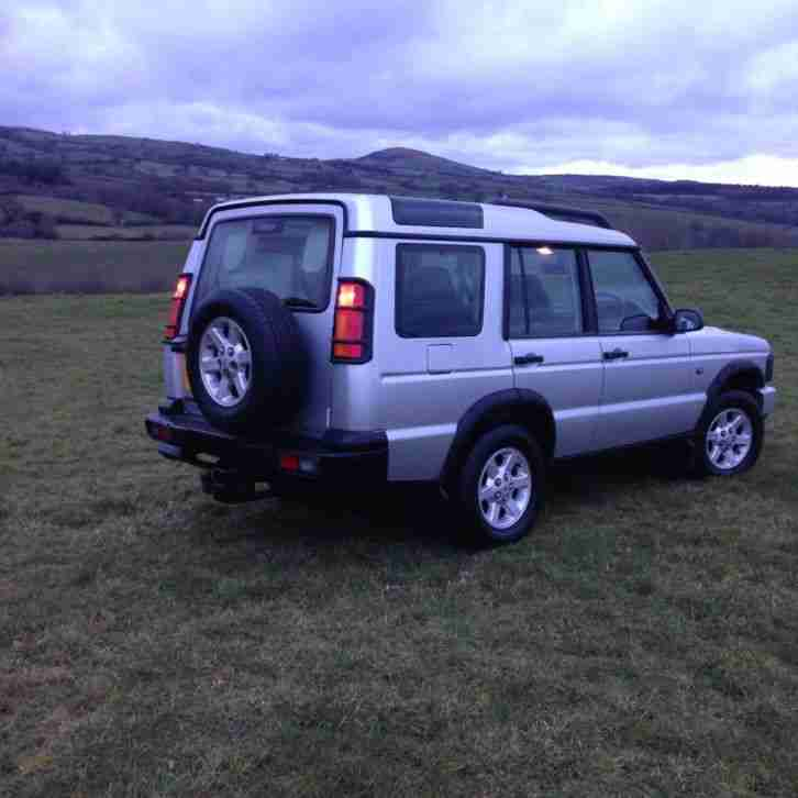 Land Rover Discovery Td5 G4 Edition 130k. Car For Sale