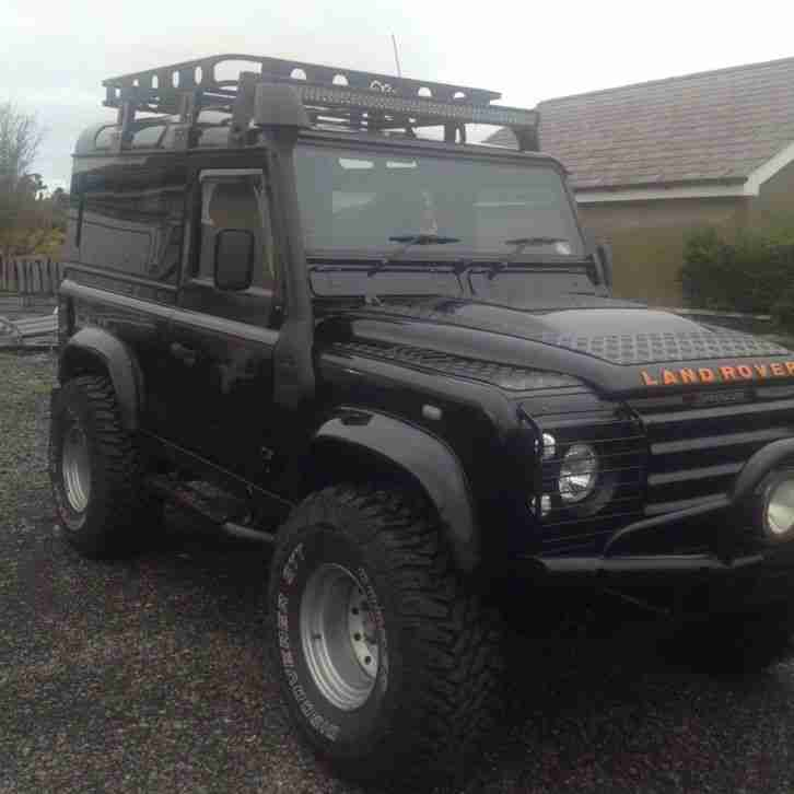 Land Rover Defender 90 2003 TD5 XS Oslo Blue. Car For Sale