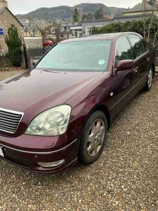 Lexus 430 LS Auto Saloon Car available for repair or spares