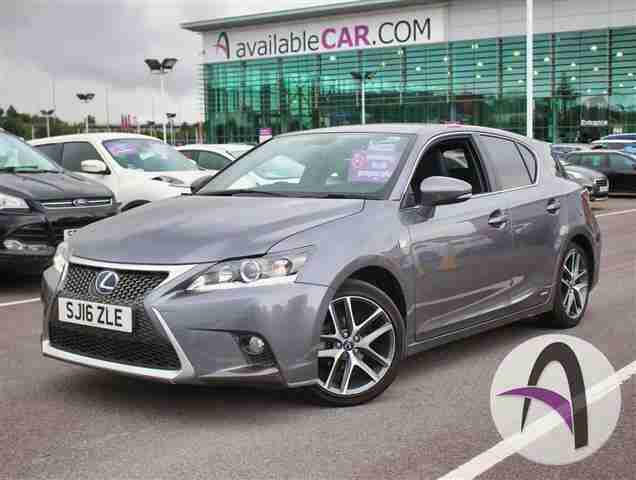 Lexus CT 200h. Lexus car from United Kingdom