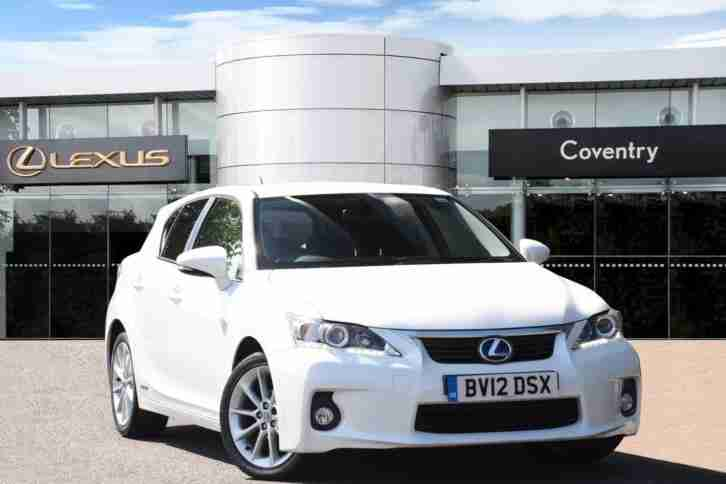 Lexus CT 2012. Lexus car from United Kingdom